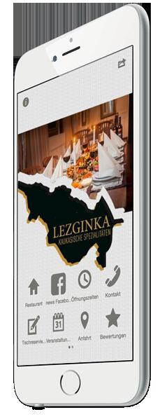 Restaurant App - Tischreservierung und Speisekarte