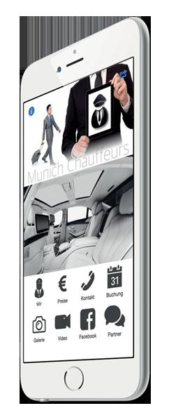 Unternehmens-App für Transport-Dienstleistung