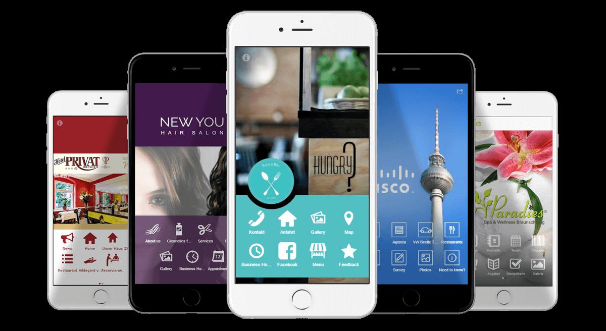 Unternehmens-Apps erstellen und Apps verkaufen mit dem AppYourself Partner App Reseller Programm