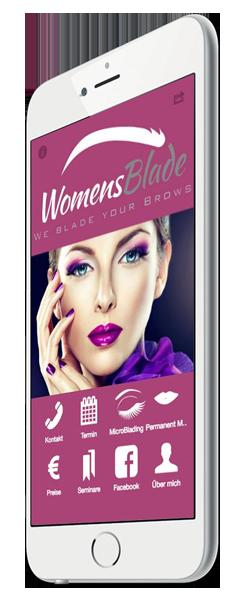 WomensBlade Microblading München App